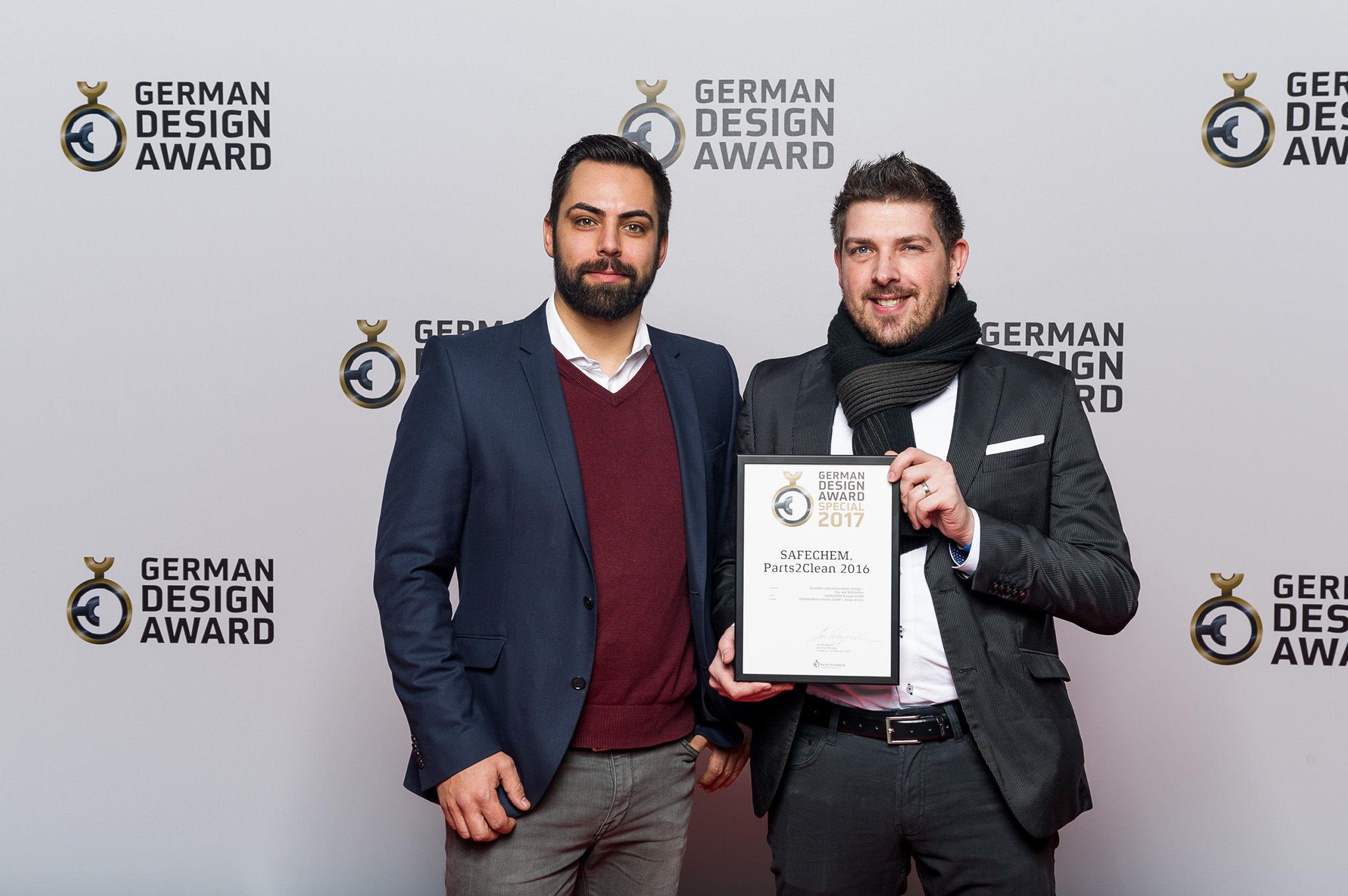 Preisverleihung des German Design Awards –DIMAH Messe + Event