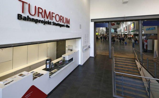 Turmforum Bahnprojekt Stuttgart - Ulm