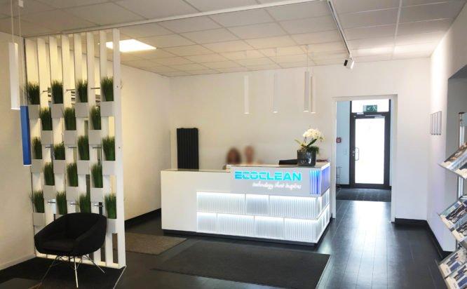 Ecoclean GmbH - Entrance