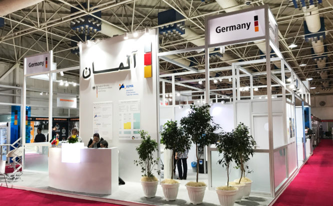 German Pavilion Gemeinschaftsmessestand- Iran food & bev tec 2019