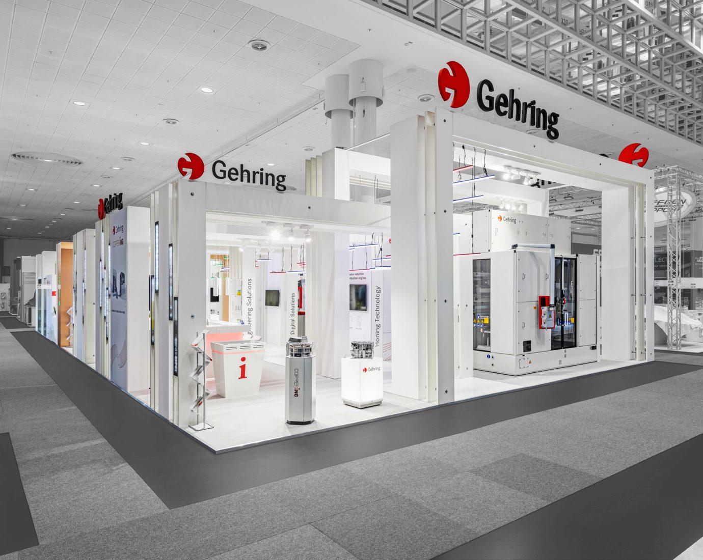 Gehring EMO 2019. Konzept, Design und Aufbau von DIMAH