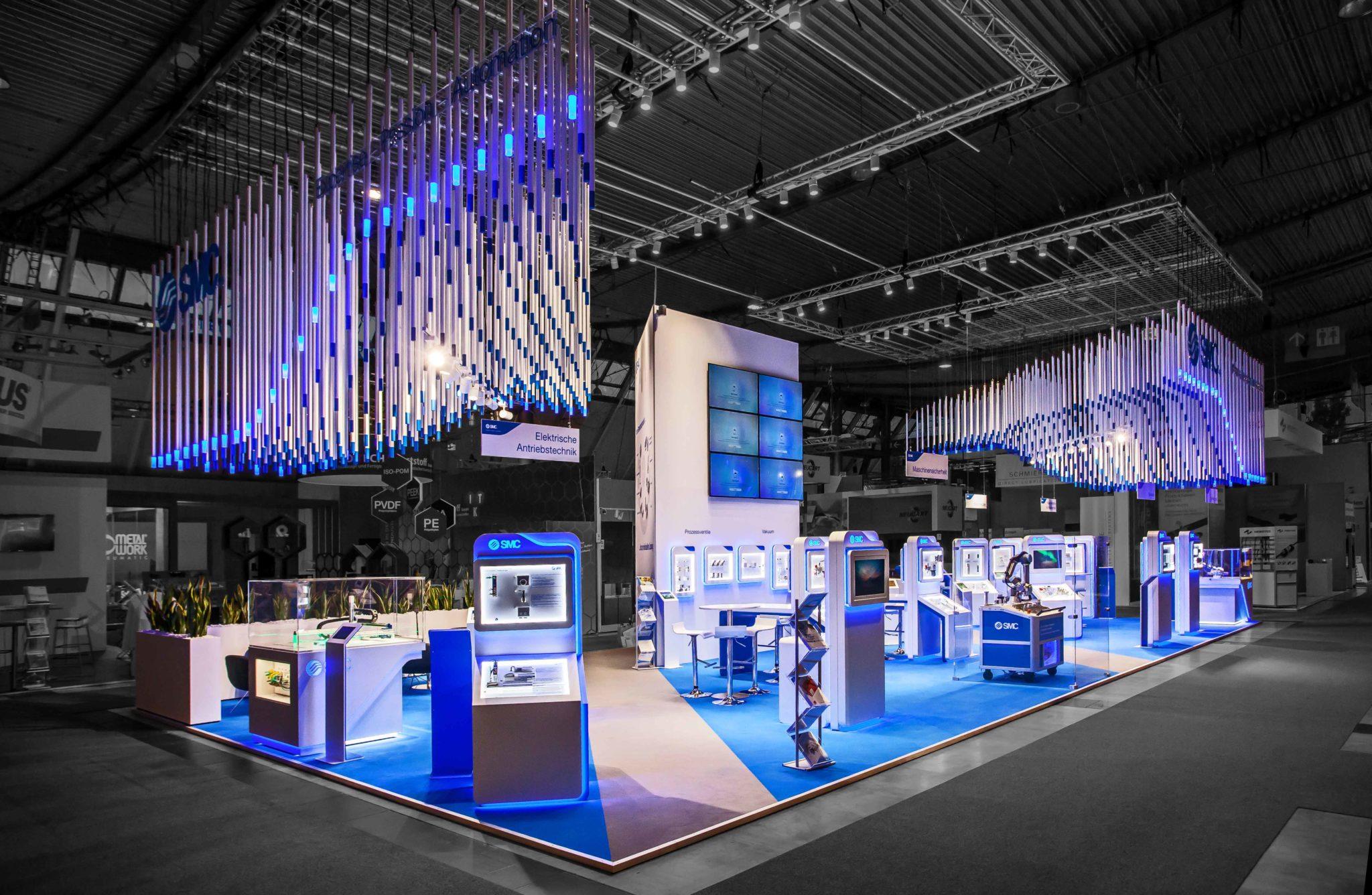 »Markenraum-Konzept für SMC Deutschland - Motek 2019«