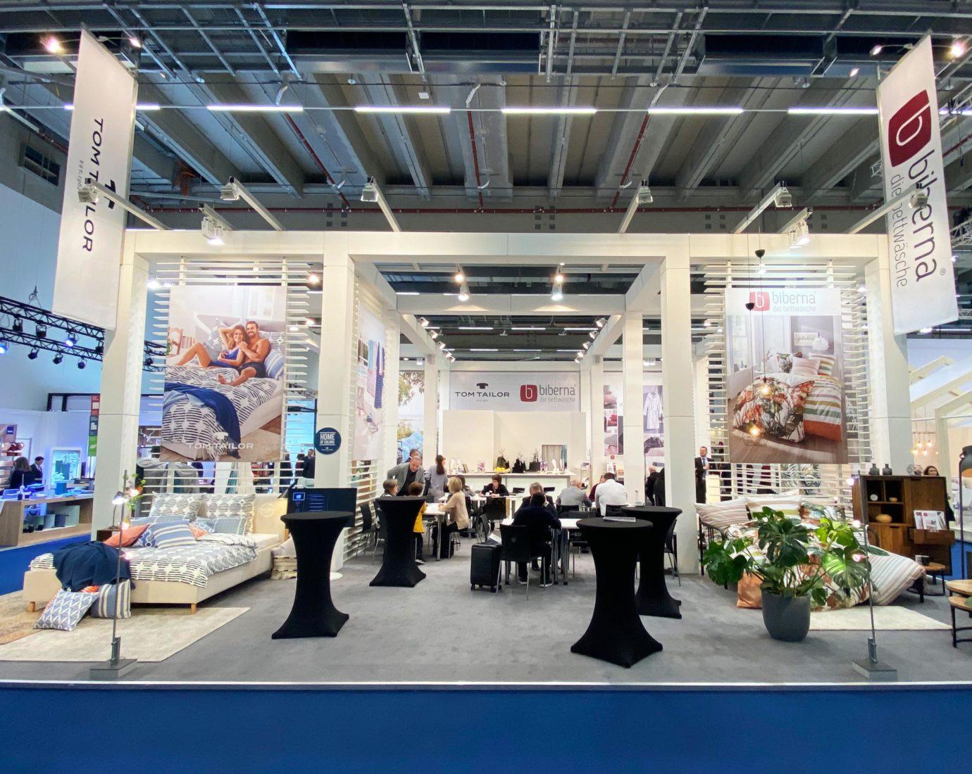 H.u.W. Schmänk GmbH & Co. KG Messeauftritt auf der Heimtextil 2020 in Frankfurt.