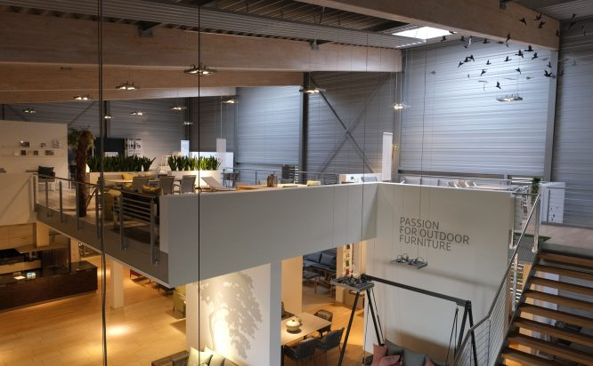 Stern GmbH & Co. KG Umbau Showroom 2020